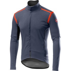 Castelli Perfetto Rain Or Shine Convertible Jacket Men dark/steel blue